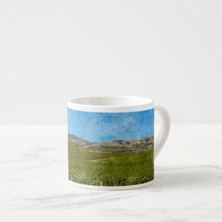 Grapevines in Napa Valley California Espresso Cup