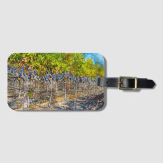 Grapevines in Napa Valley California Luggage Tag