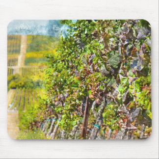 Grapevines in Napa Valley California Mouse Pad