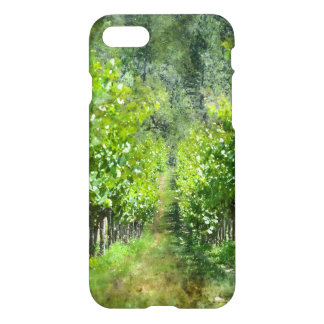 Grapevines in Spring in Napa Valley California iPhone 8/7 Case