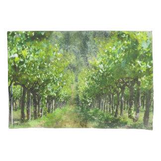 Grapevines in Spring in Napa Valley California Pillowcase