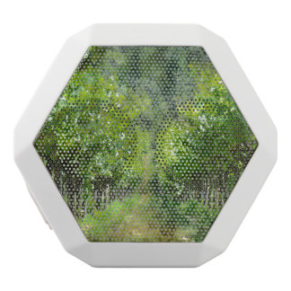 Grapevines in Spring in Napa Valley California White Bluetooth Speaker