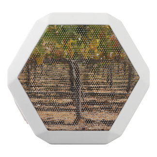 Grapevines in the Fall White Bluetooth Speaker