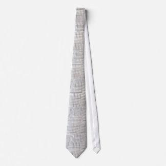 Graph paper tie