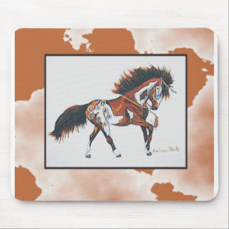 Graphic1war pony mousepad