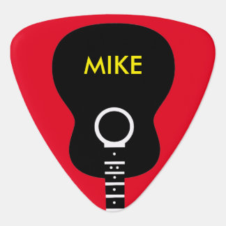 graphic acoustic guitar personalized guitar pick