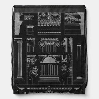 Graphic Architecture IV Cinch Bag