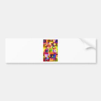 Graphic-art Bumper Sticker
