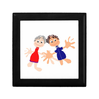 Graphic Art - Two Friends Gift Box