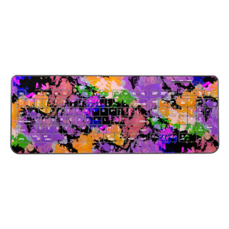 Graphic Artist | Paint Splatter Print Keyboard