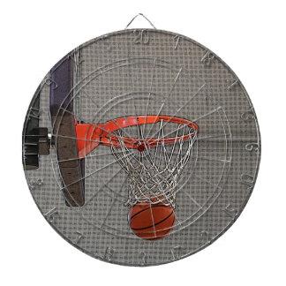 Graphic Basketball Hoop Dart Board
