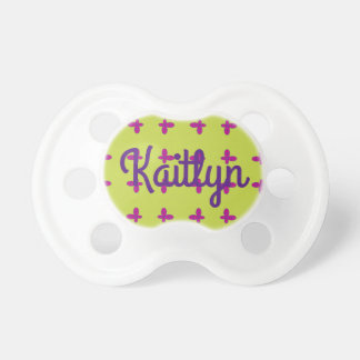 Graphic Butterflies | Lime Pacifier