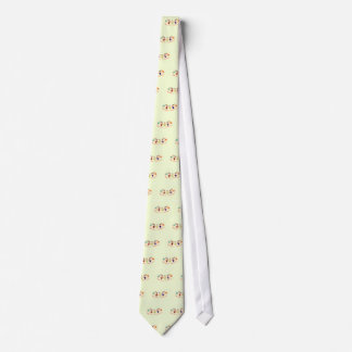 Graphic Characters with Text Happiness_is_Friends Tie