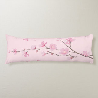 graphic-design pattern illustration cherry-blossom body pillow