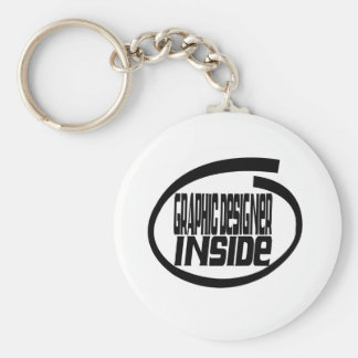 Graphic Designer Inside Keychain
