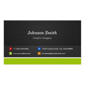 Graphic Designer - Professional and Premium Business Card