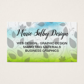 Graphic Designer Theme Business Card