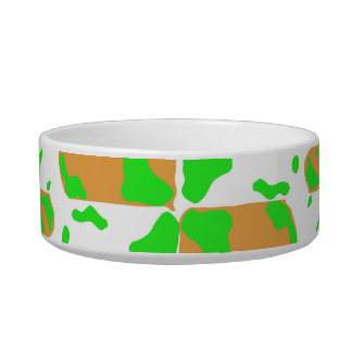 Graphic Floral Pattern Bowl