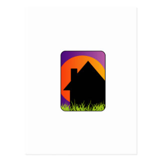 Graphic for home renovation or real estate postcard