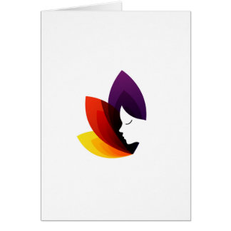 Graphic for ladies fertility center greeting card