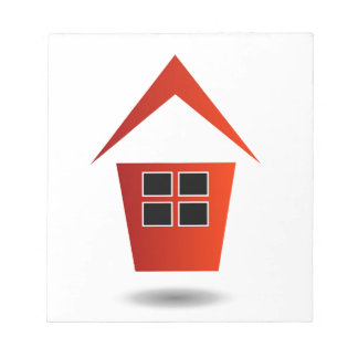Graphic for real estate notepad