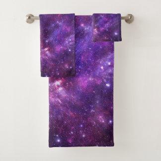 Graphic Galaxy Bathroom Towel Set