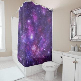 Graphic Galaxy Shower Curtain