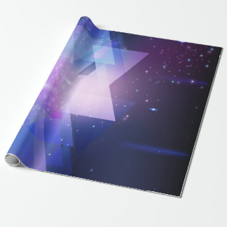 Graphic Galaxy Wrapping Gift Paper