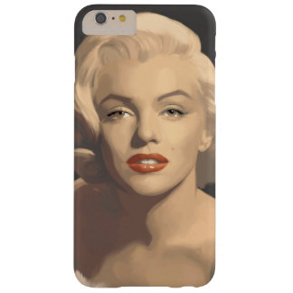 Graphic Gray Marilyn Barely There iPhone 6 Plus Case
