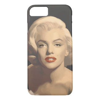 Graphic Gray Marilyn iPhone 7 Case