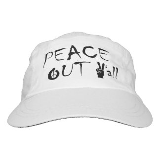 Graphic Hat Peace Out Y'all