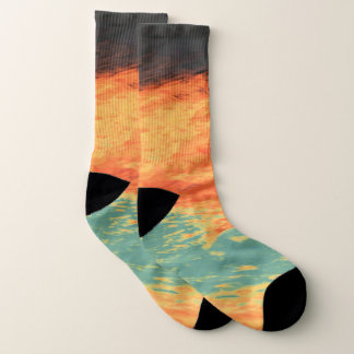 Graphic Holiday Socks