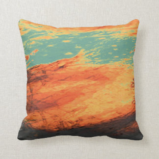Graphic Holiday Throw Pillow