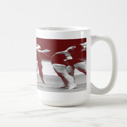 Graphic Image Exercise Class Mug