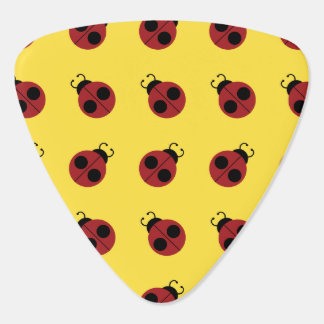 Graphic Ladybug Retro Yellow Pick