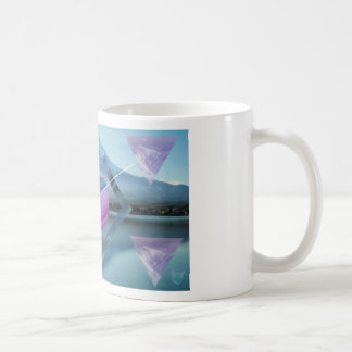 Graphic Mountain Art Coffee Mug