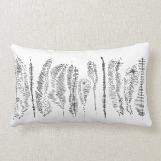 graphic organic lumbar pillow