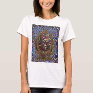Graphic Painting  Crystal Stone TileS Egyptian NY T-Shirt