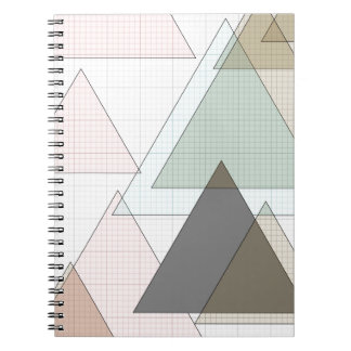 Graphic paper of triangles graph PAPER Notebook
