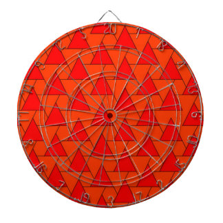 graphic pattern, red dart board