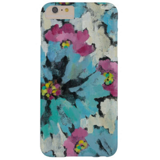 Graphic Pink and Blue Floral Barely There iPhone 6 Plus Case