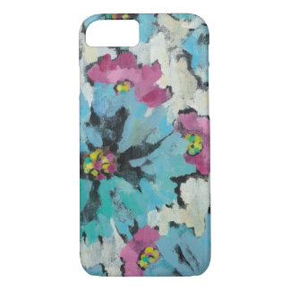 Graphic Pink and Blue Floral iPhone 8/7 Case