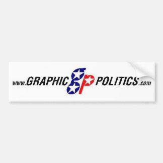 Graphic Politics Bumper Sticker
