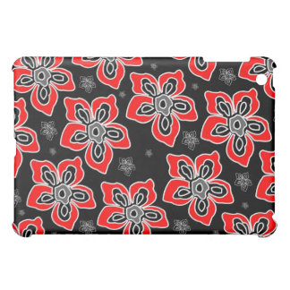Graphic Red Flower iPad Case