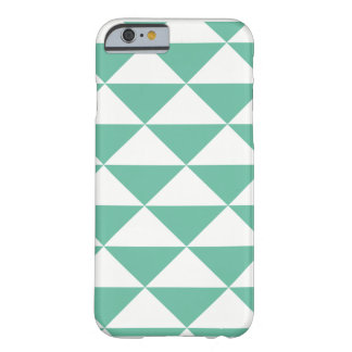 Graphic sample on I-Phone 6 mobile phone covering Barely There iPhone 6 Case
