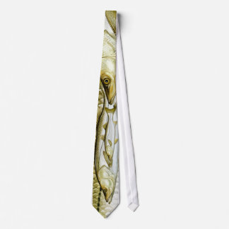 Graphic Snook Necktie