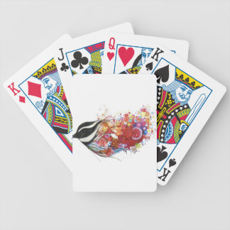 Graphic Sparrow Bicycle Playing Cards