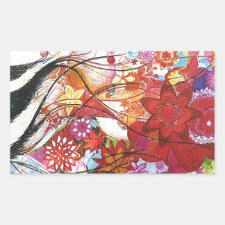 Graphic Sparrow Sticker