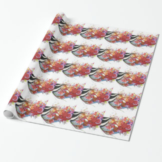 Graphic Sparrow Wrapping Paper