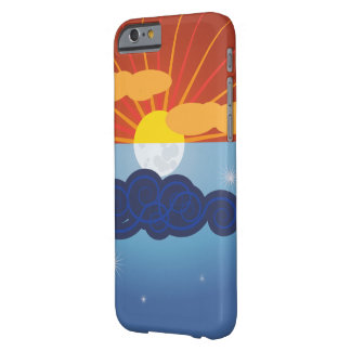 Graphic Sun & Moon Design Barely There iPhone 6 Case